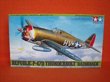 "TAMIYA ® 61086 Republic p-47d LE CANARDEUR ""RAZORBACK"" 1:48"
