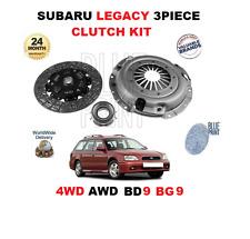 für Subaru Legacy 2.5i 4WD AWD BD9 BG9 2457cc 1993-1998 NEU Kupplungssatz 3-tlg.