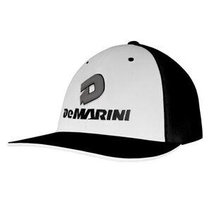 DeMarini Stacked D Baseball/Softball Trucker Hat - White/Black/Gray - S/M