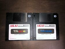 TR-808 & TR-909 Sounds for Akai MPC 2000 2000XL Drum Kit Sample Pack Floppy Disk