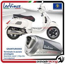 Leovince Granturismo Escape (CE) Vespa GTS 250 Via Montenapoleone 2005>2013