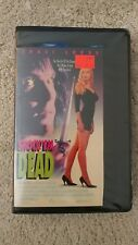 Shock'em DEAD VHS Traci Lords, Clamshell, (Rare/OOP) TOWER VIDEO
