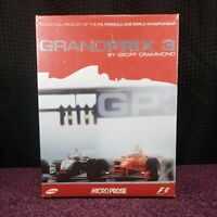 Grand Prix 3 F1 PC CD-ROM Computer Video Game UK New Factory Sealed Rare Retro