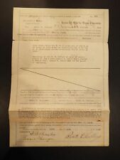 Pipe Line Certificate & Special Royalty Contract Robt. L. Collins 1923