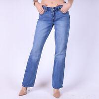 Levi's 415 Relaxed Bootcut hellblau Damen Jeans DE 34 / US W27 L30