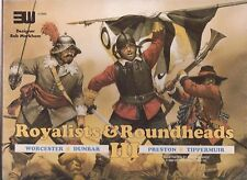 ROYALISTS & ROUNDHEADS III - ENGLISH CIVIL WAR QUADRIGAME - WARGAME 3W