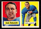 1957 TOPPS #71 ANDY ROBUSTELLI GIANTS