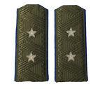 Soviet WW2 style NKVD 2-star General field shoulder boards