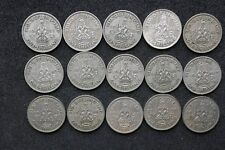 Scottish SHILLINGS 1937 to 1951 - ALL Seleccionado Circulación -Elija Su FECHA