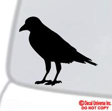 CROW Vinyl Decal Sticker Car Window Wall Bumper Black Bird American Cute Raven
