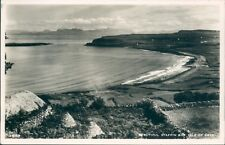 Postcard Isle Of Skye Staffin Bay Real photo J.B White Dundee unposted