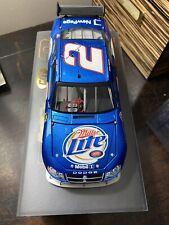 2007 Kurt Busch #2 Miller Lite Dodge Avenger Owners Elite 100/2007 1/24 NASCAR