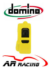 Domino Universal Start Stop / Map / Rain Light Handlebar Switch in Yellow