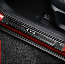 For Accessories Mazda CX 3 cx3 2016 2019 Door Sill Cover Pedal Steel Scuff Plate