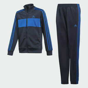 adidas boys navy & blue Tiberio tracksuit. Warm up suit. Ages 4-14 years!