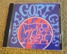 GORE GORE GIRLS ~ 7x4 ~ CD/EX ~ RARE GARAGE REVIVIAL ~ FUZZTONES/BOMBORAS