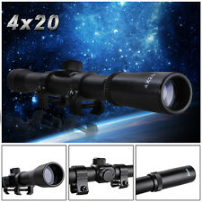 4x20 Air Rifle Airgun Gun Scope Optics Sniper Hunting Shooting with 11mm Mount