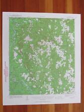 Lucedale Mississippi 1961 Original Vintage USGS Topo Map