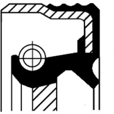CORTECO WELLENDICHTRING, KURBELWELLE 12014447B