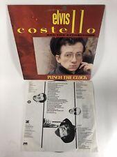 Elvis Costello Punch The Clock Lp 1983 AL 38897 Vinyl NM W/Insert