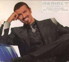 G.MICHAEL 'STAR PEOPLE 97+LIVE' RARE UK 3-TRACK SEALED