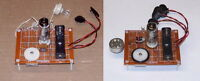 RECEIVER & TRANSMITTER electronic kits vintage vacuum tube UNBUILT AM radio sets