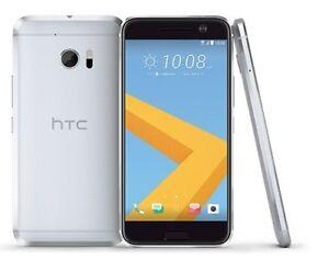 HTC 10 32GB 6545LVW Glacier Silver (Verizon)+GSM Unlocked Smartphone Cell Phone