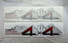 2PC TOYOTA HILUX VIGO 2012 OFF ROAD 4X4 GENUINE STICKER FROM TOYOTA