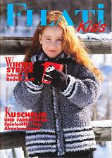 Filati Kids Heft 3, Winter, Kinder, Kleidung, stricken, Modelle, 39 Anleitungen