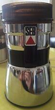 moulin a cafe ancien SEB - Type 105 Électrique en boite     Top Qualité !!!!!!