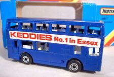 "Matchbox SF Nr.17C London Bus ""Keddies"" in d'blau"
