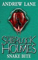 Lane, Andrew, Snake Bite (Young Sherlock Holmes), Very Good Book