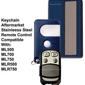 Garage door remote control suits chamberlain ML500 ML700 ML750 MLR500 MLR750