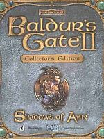 Baldur's Gate II: Shadows of Amn Collector's Edition PC 2000 4 Disc Set