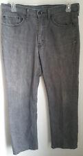Levi Mens Gray Jeans 34x30 - TRUE 35x28