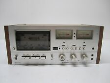 Vintage 1970s Pioneer Stereo Cassette Tape Deck Model CT-F9191 Wood Body As Is