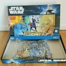 Star Wars - The Clone Wars - Puzzle - 200 Teile - Noris - Komplett - gebraucht