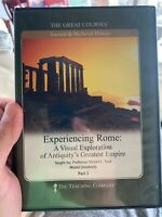 The Great Courses Experiencing Rome: A Visual Exploration of Antiquity's Pt 1&3