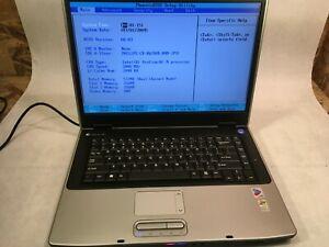 """Gateway M460E Pentium M 2GHz 512 MB 15.4"""" Boots to BIOS- RR"""