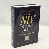 NIV Study Bible 10th Anniv Edition Ed Kenneth Barker Zondervan 1995