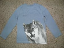 Boys Gymboree Wilderness Club Cougar Shirt Size 8