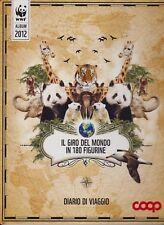 IL GIRO DEL MONDO IN 180 FIGURINE - WWF - ALBUM 2012 - COOP - DA COMPLETARE