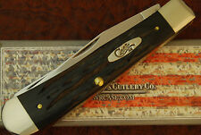 CASE XX USA GENUINE BUFFALO HORN FULL SIZE TRAPPER KNIFE BH254SS NICE 2014 (2125