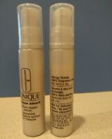 Lot 2 Clinique Smart Custom-Repair Serum Travel size 0.34oz / 10ml each unboxed