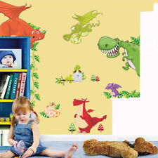 Dinosaur Dragon Wall Sticker Vinyl Decals Kids Nursery Room Animals Decor