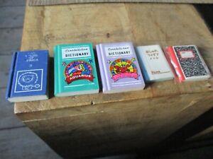 Lot  livres gommes collectors-Thème Afrique,Dictionnaire,Constellation-Années 80