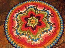 Handmade Crochet Mandala Star Flower