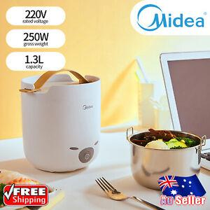 Midea Electric Rice Cooker 1.3L Steamer Portable Mini Small Dormitory 250W