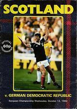 EM-Qualifikation 13.10.1982 Schottland - DDR in Glasgow