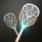 Rechargeable LED Electric Bug Pest Fly Mosquito Killer Swatter Zapper Racket